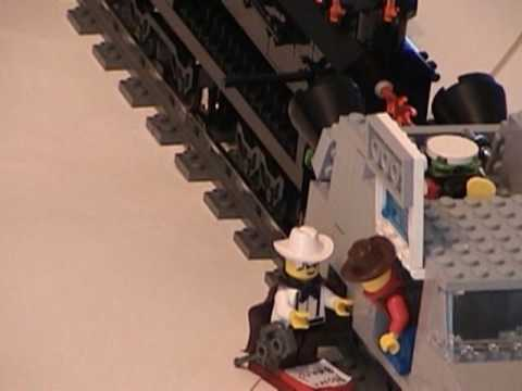 Lego Back To The Future Three Part 3