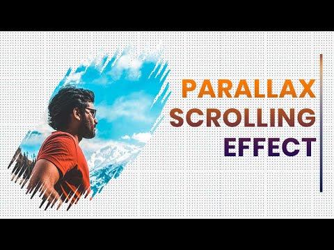 Simple Parallax Scrolling Effect   Parallax Effect HTML CSS JS