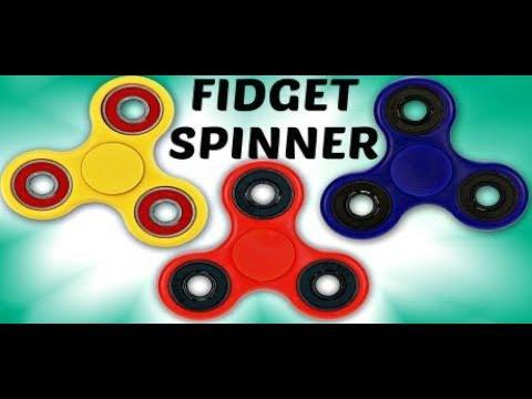 Hogyan készíts otthon Fidgets Spinnert  Most megtudod! - YouTube e0ada20987
