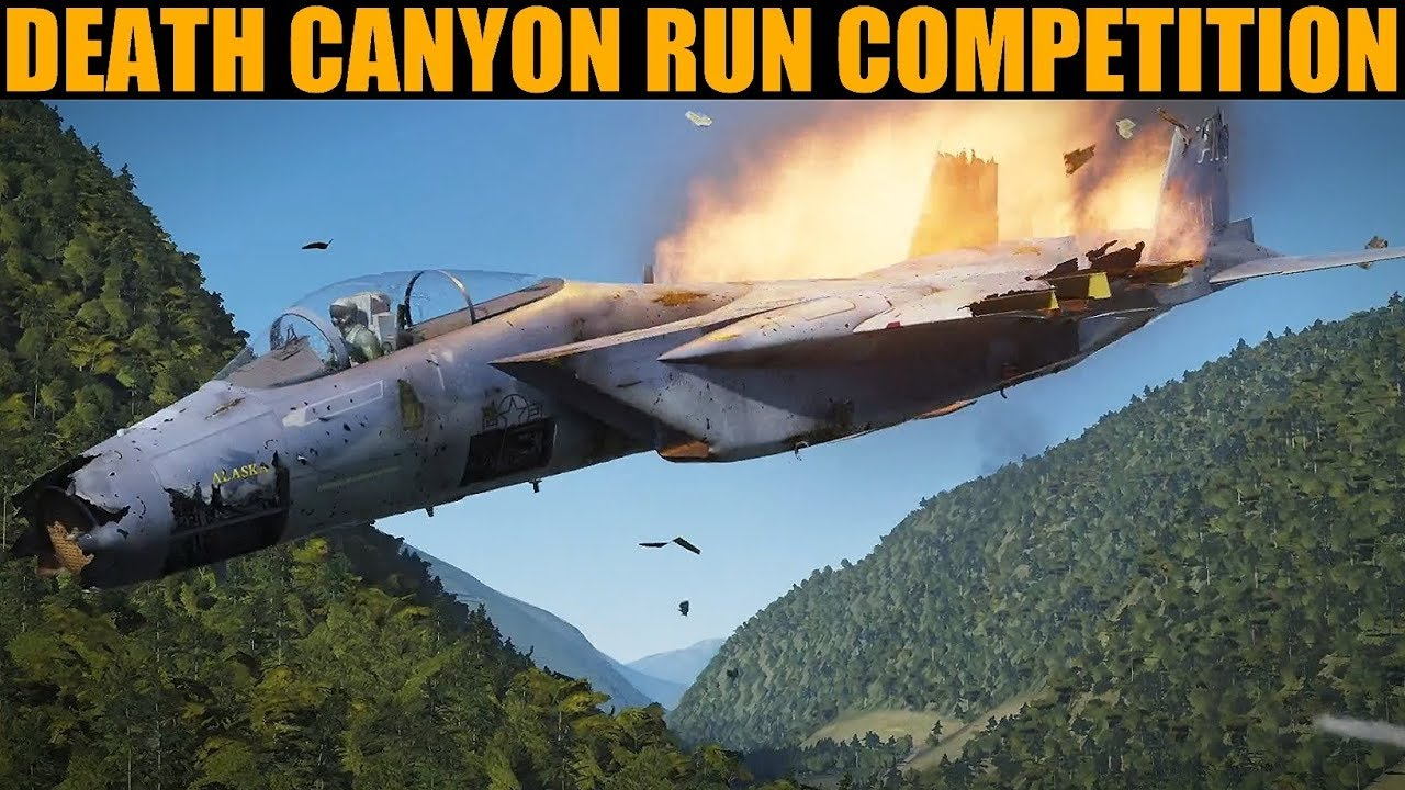 2019 Canyon Run AAA/SAM Evasion Skill Competition | DCS WORLD