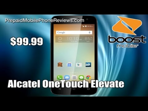 Boost Mobile Alcatel OneTouch Elevate now available for $99.99