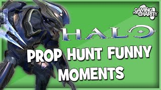 Halo Reach | Prop Hunt Funny Moments! | Ninja Kick, Squad, & Pocket Chairs