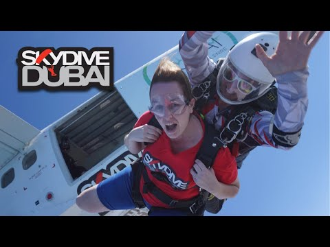 Skydive Dubai – The Palm Jumeirah – Carol Cooney