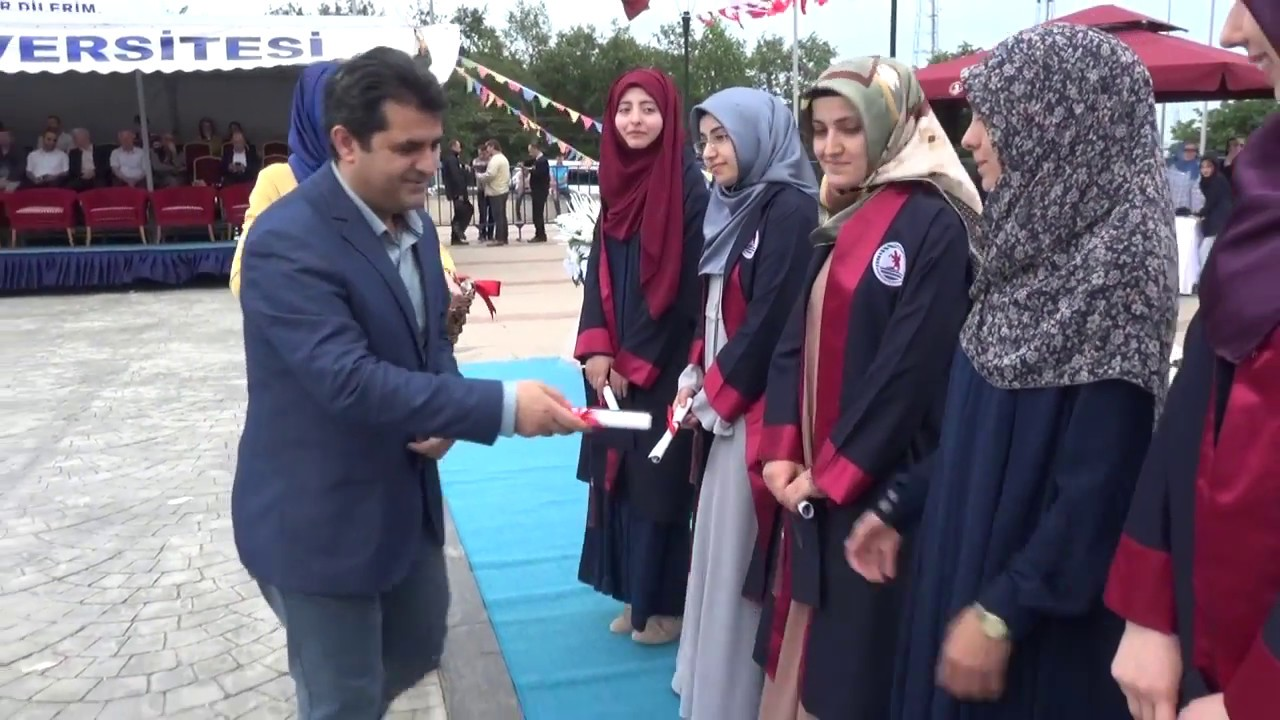 Omu Ilahiyat Fakultesi Mezuniyet Toreni 2018 Youtube