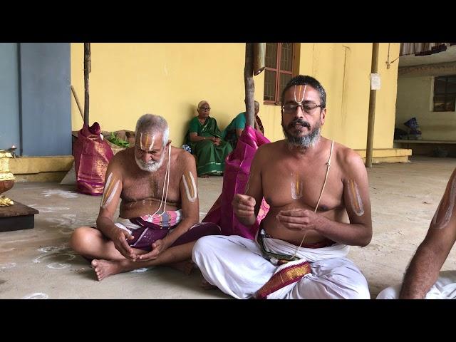 Srimad andavan chathurmasyam 2020 - Speech by Sri.Renganathan Swami