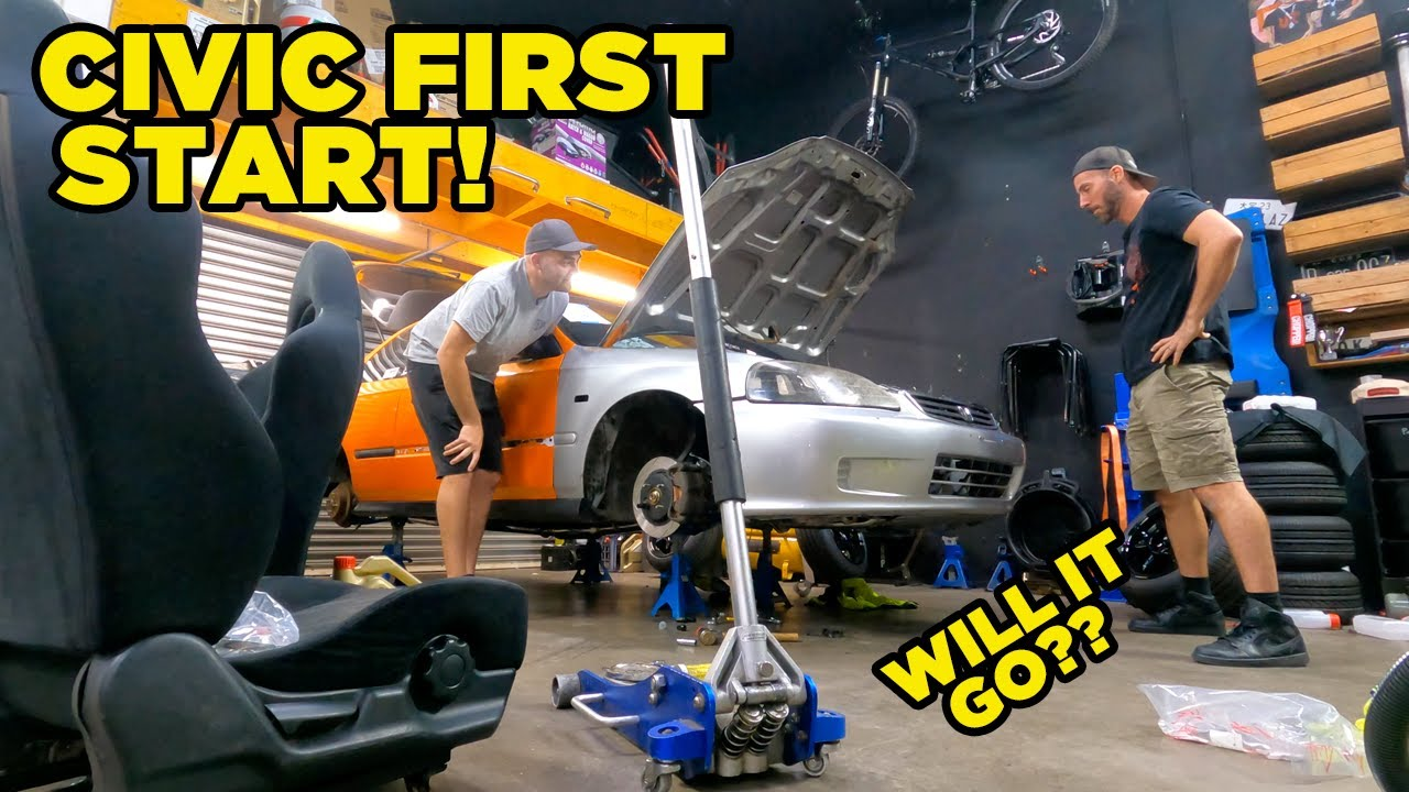 Nugget Civic FIRST START (EP12)