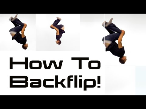 HOW TO DO A BACKFLIP | Parkour & Tricking Tutorials w/ Vinny Grosso