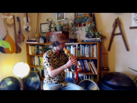 Rav and Guitar Live stream- World Music& Q/A- Rewildyoursoul