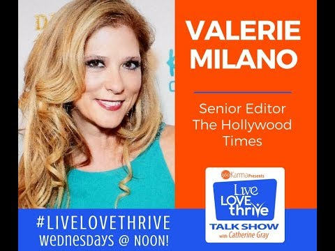 Ep  #159 Hollywood Times Editor Valerie Milano
