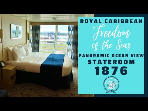 Freedom Liberty Independence of the Seas Newly added Panoramic Ocean View Stateroom Cabin 1876