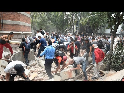 Mexico Earthquake: Videos show violence of quake