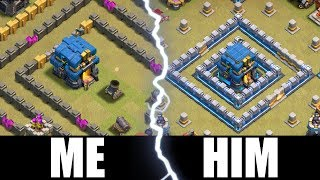 WORLDS WORST TOWN HALL 12........vs Galadon.....Clash Of Clans