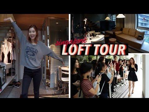 Singapore Loft Hotel Tour + Gặp gỡ lên  #Vlogmas Day⑤