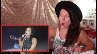 Vocal Coach REACTS to DEMI LOVATO'S- BEST LIVE VOCALS