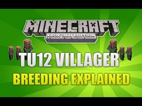 Download Minecraft (Xbox 360) TU12 Baby Villagers & Breeding Explained (IN DEPTH)