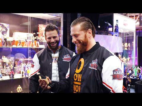 Zack Ryder and Curt Hawkins get an Elite Squad experience at WrestleMania Axxess
