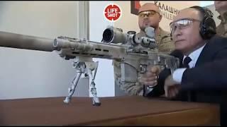 Путин и винтовка СВЧ-308