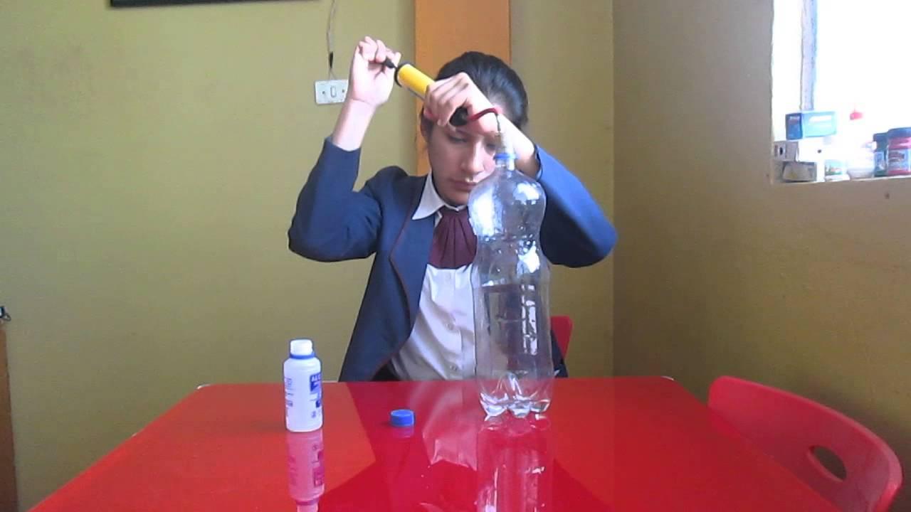 Experimentos nube en una botella youtube - Como hacer una nube ...