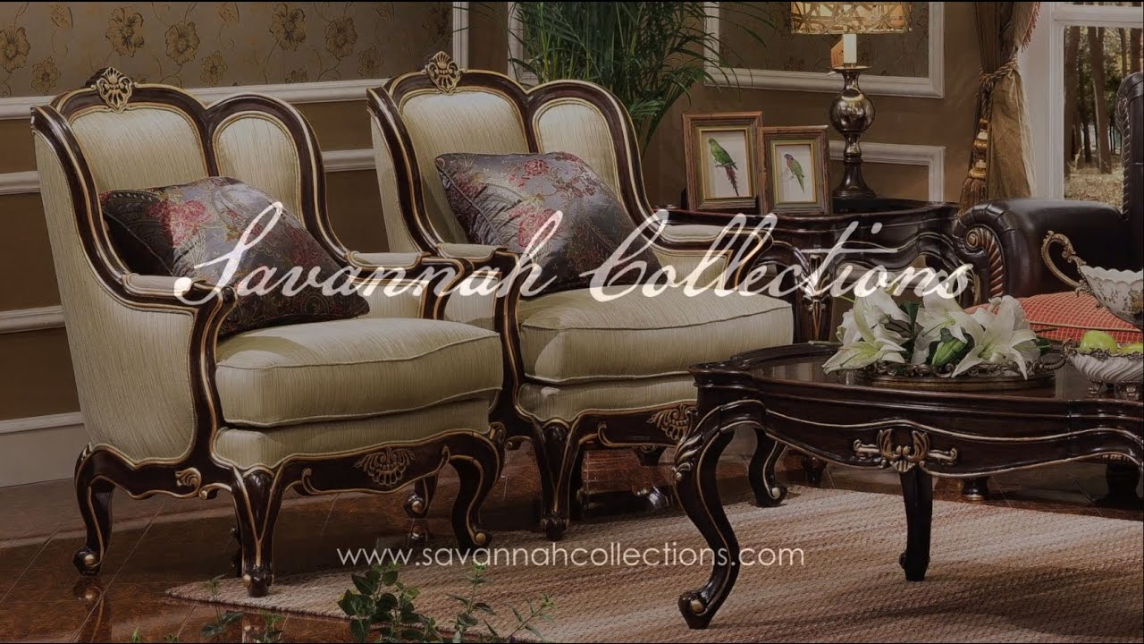 Italian Furniture Accent Chair By Savannah Collections Theodore Alexander