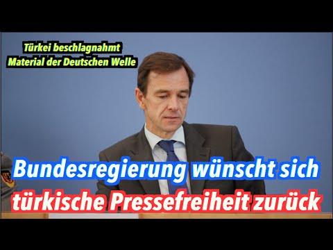 Türkei beschlagnahmt Material der Deutschen Welle: Bundesregierung resigniert