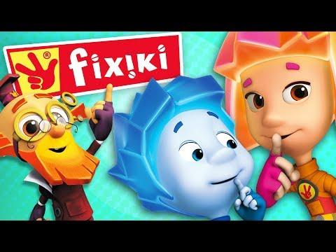 Cantec nou: FIXIKI - Desene animate dublate in romana pentru copii
