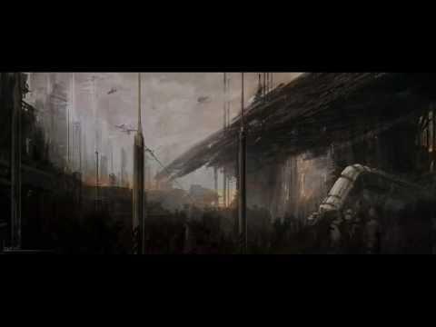 Concept Art - Sci-Fi Landscape