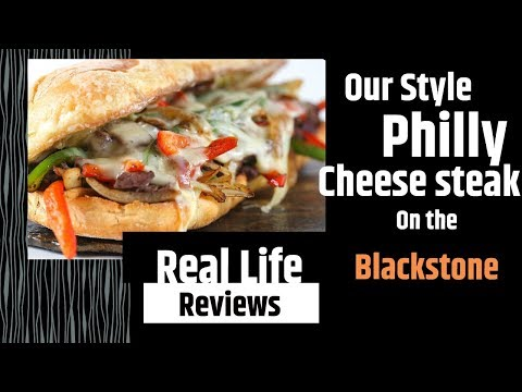 Philly Cheese Steak On The Blackstone - Our Style