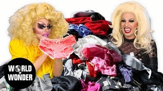 This week, Trixie and Katya are talking about shopping. Well, sort of. Whatever, it's their show! Not yours! Watch Uncensored Episodes on WOW Presents Plus: ...