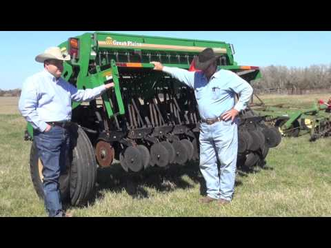 Preparing A Wildlife Food Plot With A No-Till Seed Drill