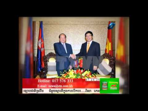 Business  News Business Between Cambodia and Vietnam
