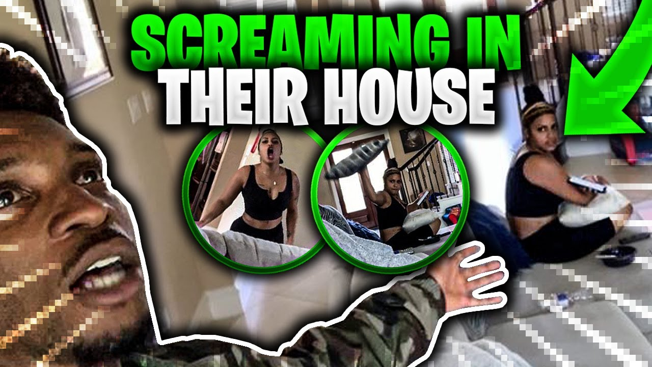 Screaming incredibly loud in Corey and Carmens House! 🤣 (MUST WATCH)