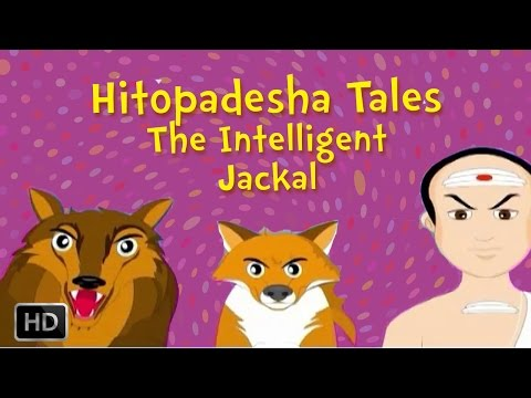 Hitopadesha Tales - The Intelligent Jackal - Moral Stories for Children
