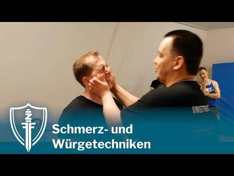 Solovev Defense: Schmerz-, Schock- und Würgetechniken
