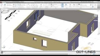 Урок 11 - Создание окон, дверей, и лестницы  3D