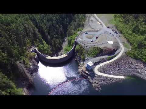 Blue Lake Dam - Sitka, AK (amazing engineering)