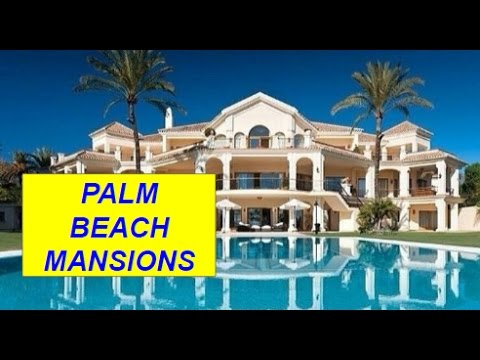 Million dollar listings and mansions for sale in Palm Beach Fl