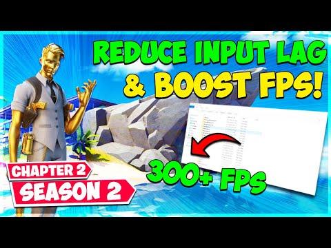 Reduce Input Lag & Boost FPS! (Fortnite Chapter 2 Season 2)