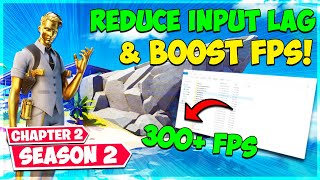 Reduce Input Lag & Boost FPS! (Fortnite Chapter 2 Season 2)