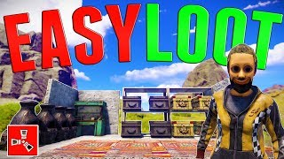 Скачать SCAVENGING A LOADED DECAYING BASE Rust SOLO Survival 3 FINALE S2