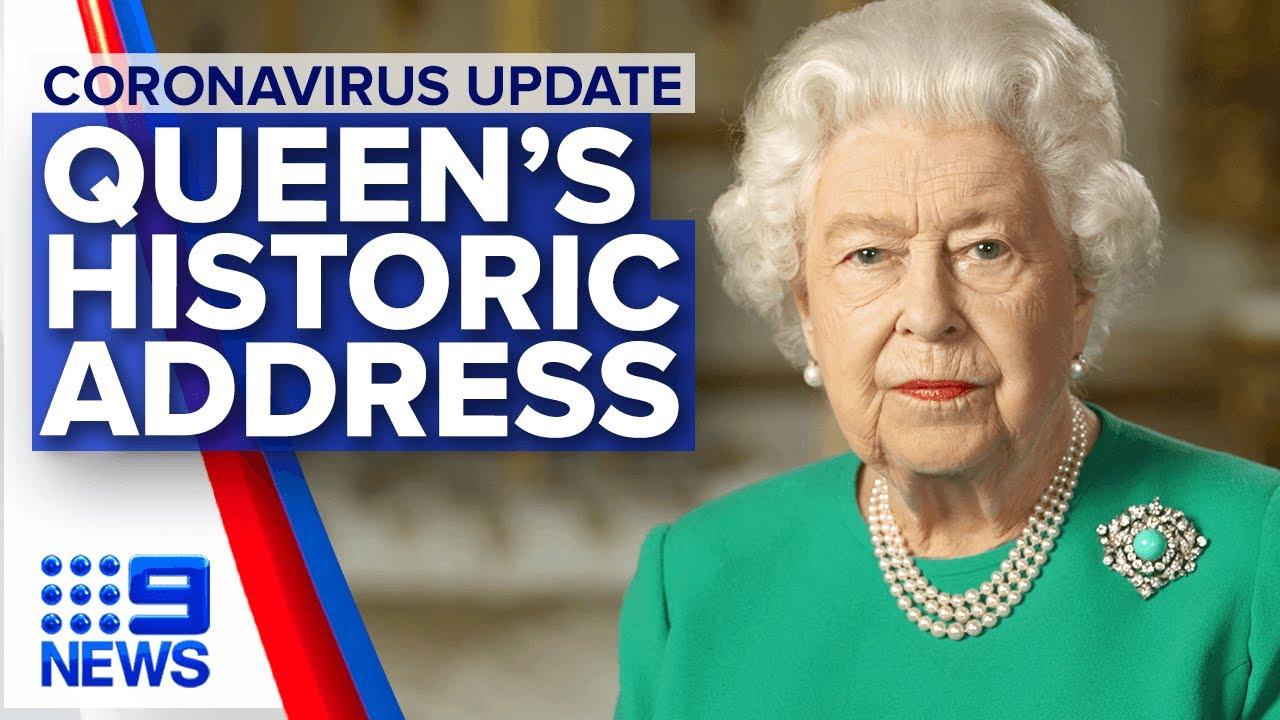 Coronavirus: Queen addresses the Commonwealth on COVID-19 | Nine News Australia – Nine News Australia