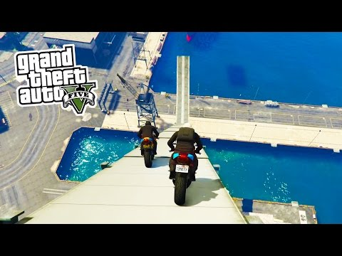 GTA 5 Online - BIKE STUNTS!!! Epic Bike Tricks & Stunts in G