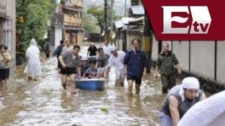 Tifón Man-Yi golpea planta nuclear en Japón/Global con José Carreño