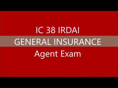 IC38 IRDAI GENERAL INSURANCE AGENT EXAM || IC 38 NEW 2019 || Personal Retail Commercial Claims