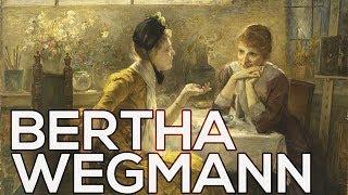 Bertha Wegmann: A collection of 40 paintings (HD)