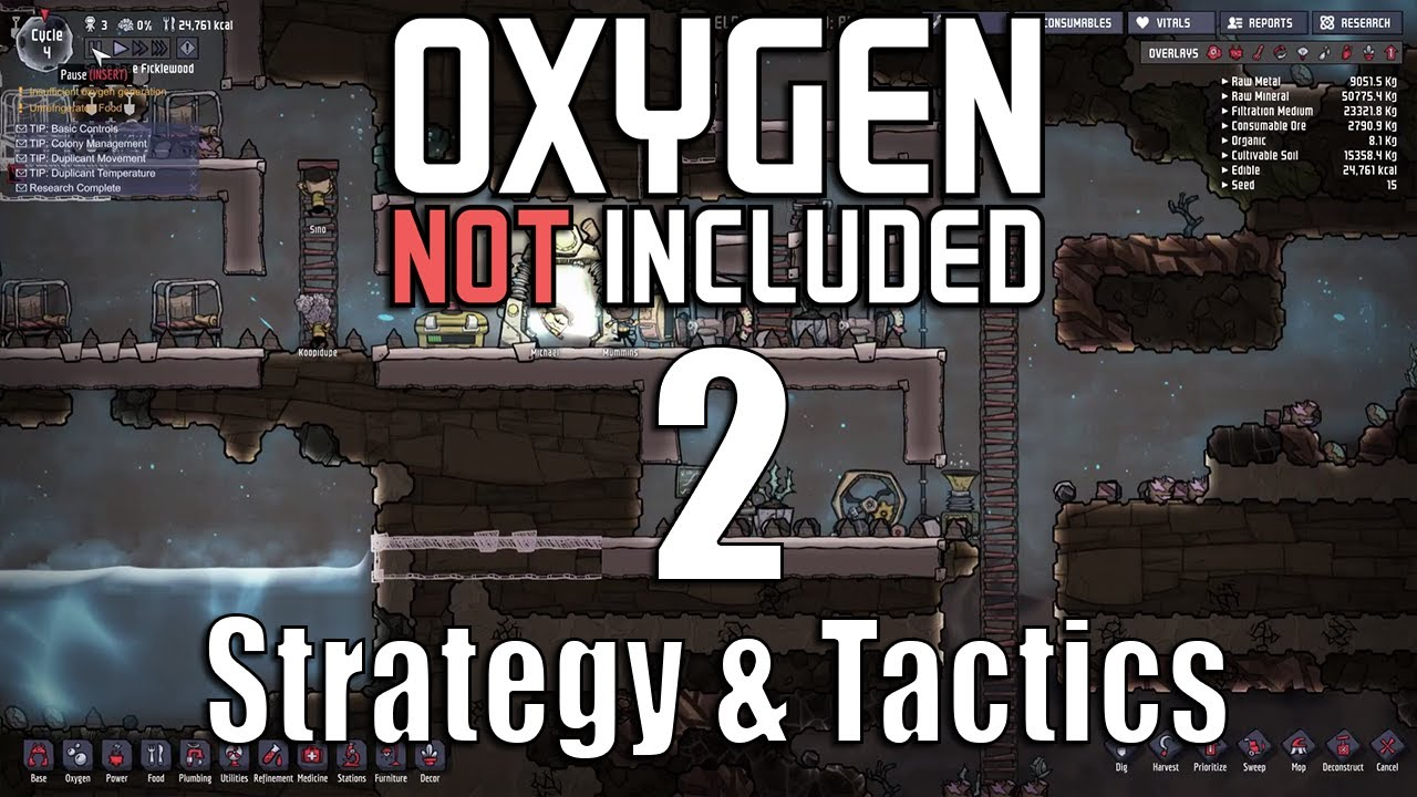 Oxygen Not Included Strategy Tactics  A Dupeplex For Every Occasion