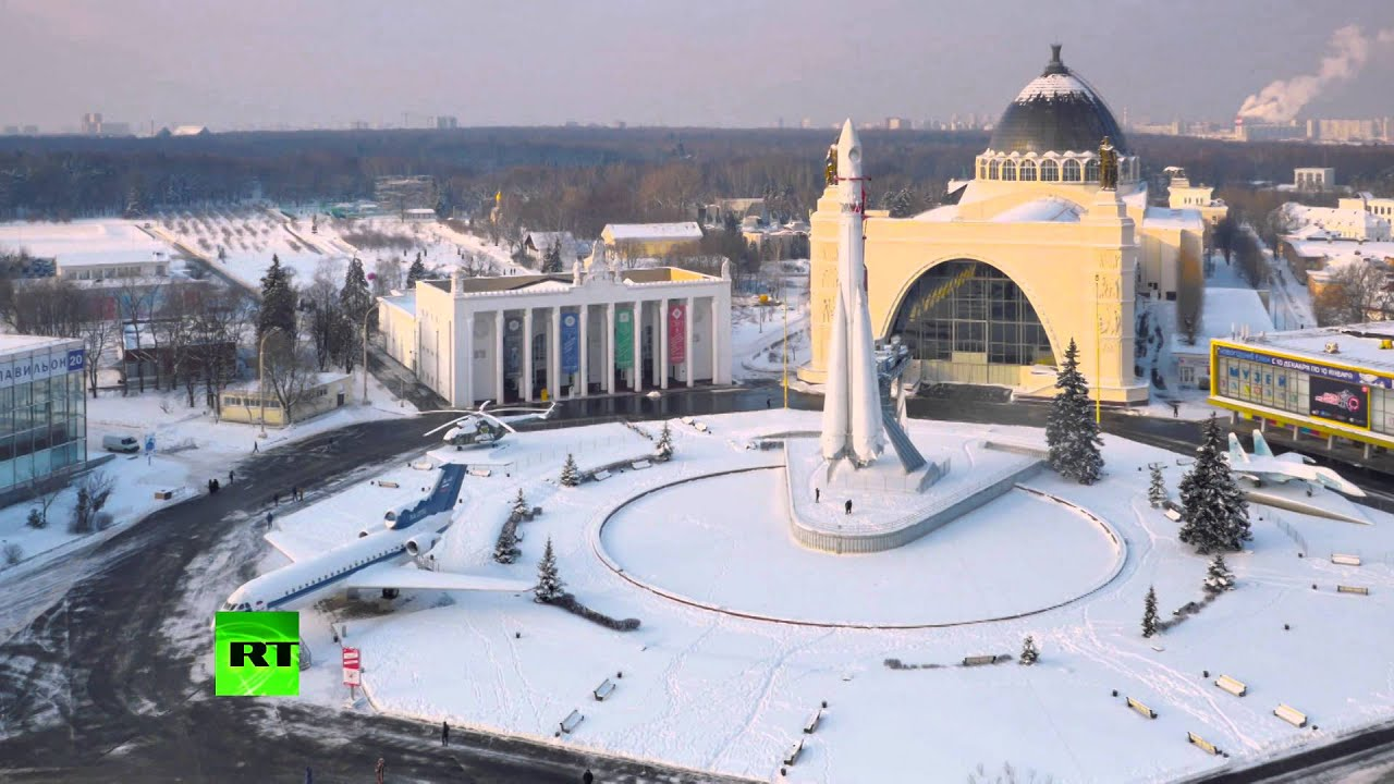 Bird's eye view of Europe's biggest ice rink – awesome ...