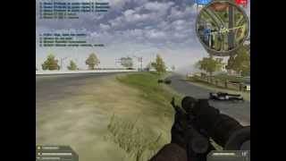 Jugando a Battlefield 2 Armored Fury gameplay