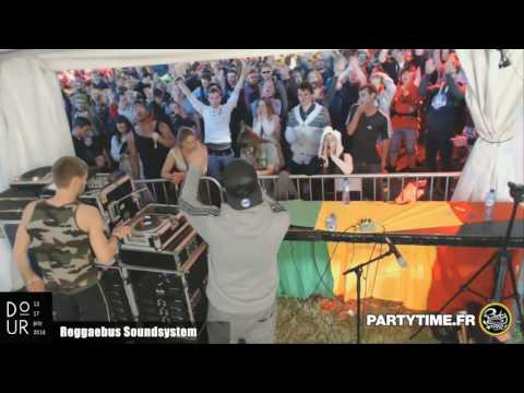 Reggaebus Soundsystem at Dour Festival by Party Time TV - 14 JUILL 2016