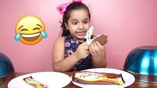 الايسكريم ضد الشوكلاتة ! طاح الايسكريم ضحك ! 😂 Ice cream vs choclate