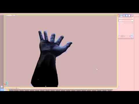 """Hand Model for """"Nightmares Unhinged"""" promo. Progress video"""